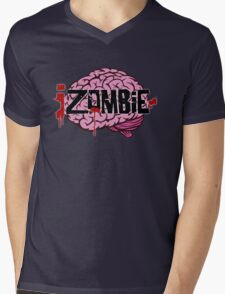 iZombie Brains Mens V-Neck T-Shirt