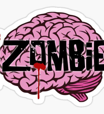 iZombie Brains Sticker