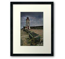 Lybster, Caithness, Scotland Framed Print