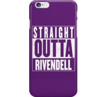 STRAIGHT OUTTA RIVENDELL iPhone Case/Skin