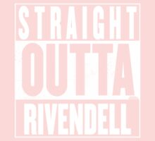 STRAIGHT OUTTA RIVENDELL Baby Tee