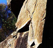 Cataract Gorge Rocks 1N by MyceanSage