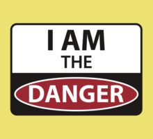I Am The Danger Kids Tee