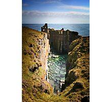 Buchollie Caslte, Wick, Caithess, Scotland Photographic Print