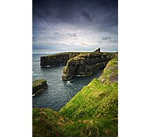 Old Wick Castle, Caithness, Scotland Photographic Print