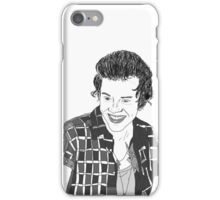 Harry Styles Outline Sketch iPhone Case/Skin