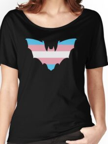 Trans Pride Bat Women's Relaxed Fit T-Shirt