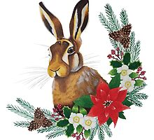 Christmas Hare by Kelly Attenborough