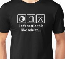 Let's Settle This Like Adults... Unisex T-Shirt