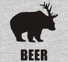 Beer Bear Kids Clothes
