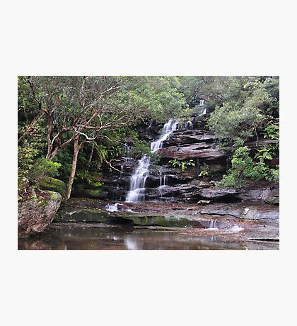 Sombersby Falls - NSW Australia Photographic Print