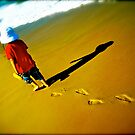 Solo Steps - Finalist image in the Australia Day Council of NSW &#x27;Living Australian&#x27; Photography Competition by Kym Slark