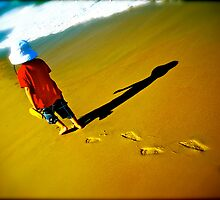 Solo Steps - Finalist image in the Australia Day Council of NSW 'Living Australian' Photography Competition by Kym Slark
