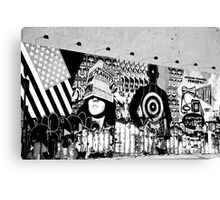 Graffiti Wall, Village, NYC Canvas Print