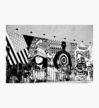 Graffiti Wall, Village, NYC Photographic Print