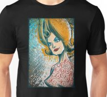 Mars Attacks art tim burton woman martian girl lisa marie poster drawing science fiction cult classic b-movie bmovie sci fi sexy joe badon Unisex T-Shirt