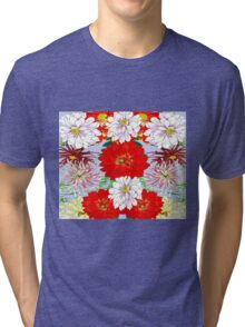 Dazzlin' Dahlia Drama Tri-blend T-Shirt