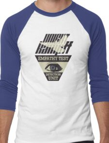 Voight-Kampff Empathy Test Men's Baseball ¾ T-Shirt