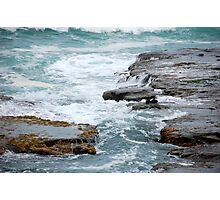 Angry Ocean Photographic Print