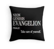 finale: take care of yourself Throw Pillow