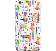 Watercolour Power Tools iPhone Case/Skin