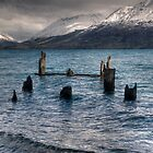 Glenorchy Pier by Andrew Dickman