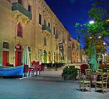 Magic Hour Waterfront Valletta Malta by Edwin  Catania