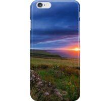 Sunrise over the Scottish Highlands iPhone Case/Skin