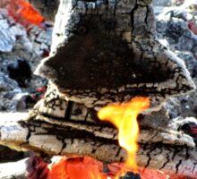 Burning Ring Sticker