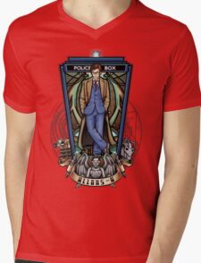 The 10th Mens V-Neck T-Shirt