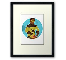 La Forge Framed Print