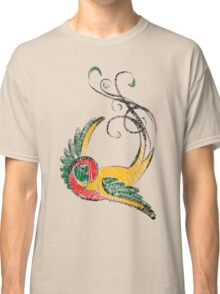 Scribbly Swallow Classic T-Shirt