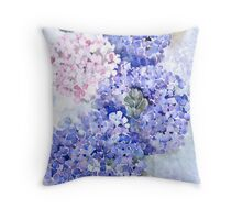 Hydrangea Demo Throw Pillow