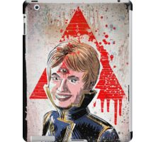 Partridge, Family, Illuminati, Art, Third Eye, Shirley Jones, Shirly Jones, Planet of the Vampires, Triangle, Government, Conspiracy, 60's, 70's, joe badon iPad Case/Skin