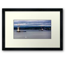New Forth Crossing - 17 May 2014 Framed Print
