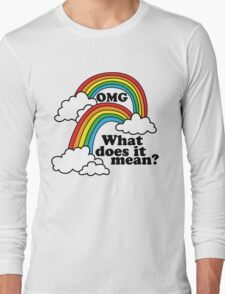 Double Rainbow - OMG Long Sleeve T-Shirt