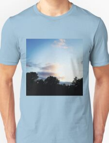 Trees and Clouds in Boothbay T-Shirt