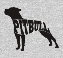 Pitbull black Kids Clothes