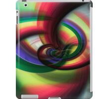 Going Round and Round iPad Case/Skin