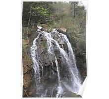 waterfall in Sapa Poster