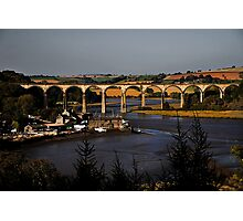 St Germans Viaduct Photographic Print