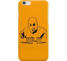 Austin Powers Dr. Evil Zip It T shirt iPhone Case/Skin