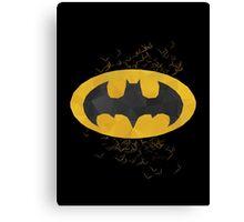 The Dark Knight - Batman Canvas Print