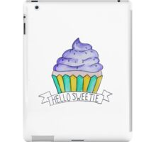 Hello Sweetie iPad Case/Skin