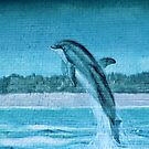 Dolphin Mural by Cynthia48