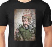 Jack Ripper, Dr Strangelove, Art, illustration, drawing, stanley kubrick, stanley, kubrick, film, movie, auteur, doctor, strangelove, Sargent, love, strange, joe badon Unisex T-Shirt