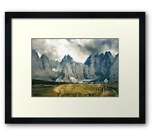 The Care of This Land Framed Print
