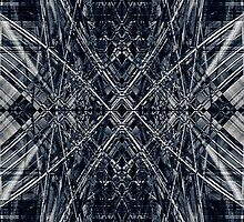 Abstract futuristic pattern by steveball