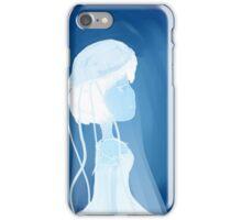 Jellyfish girl iPhone Case/Skin