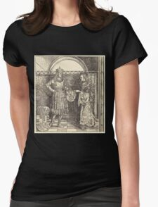 Albrecht Dürer or Durer The Betrothal of Maximilian with Mary of Burgundy Womens Fitted T-Shirt